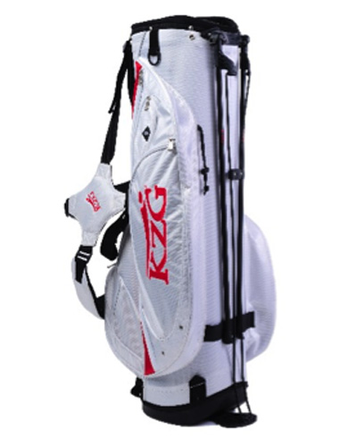 Stand Bag, White/Red